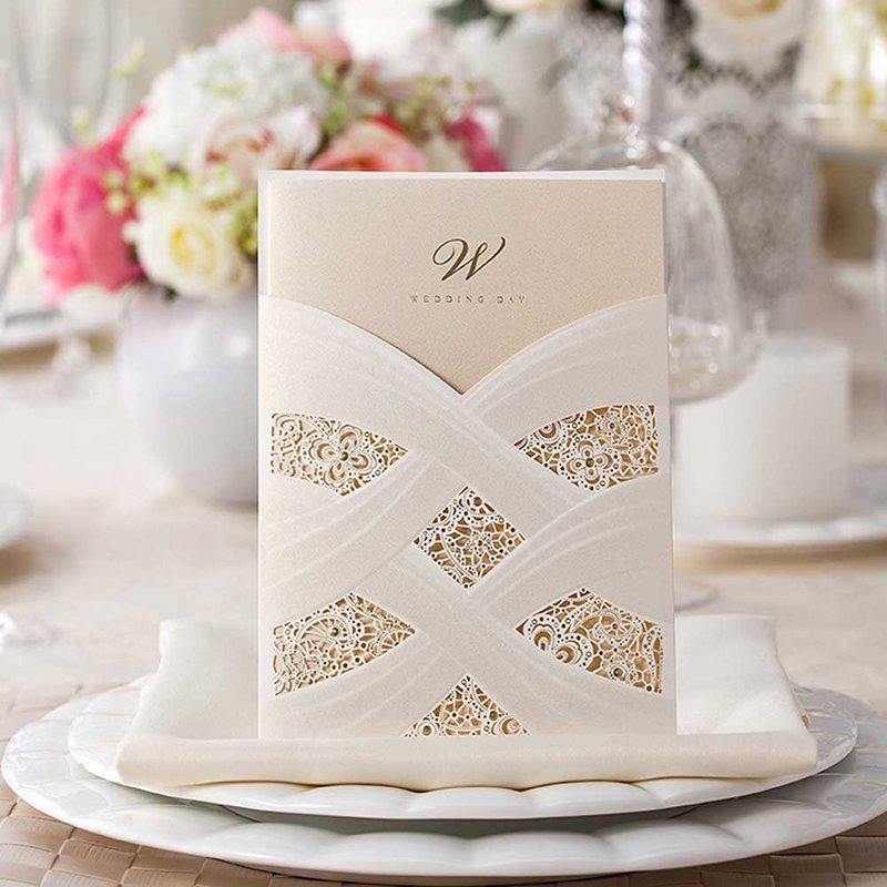 Wedding Invitations and Stationery - Diamond Wedding Cards